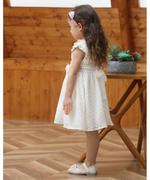 Smart Baby Baby Girl Party Dress , White - GEGS2120108