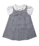 Rock a Bye Baby Girls Dress Set ,Black / White,JCGS21T20221