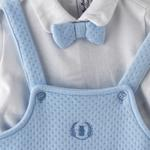 Rock a Bye Baby Baby Boys 2Pc Set , Light Blue/White- JCGAW20S19379