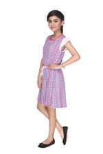 Nexgen Girls Girl Frock, Multicolor-MCGCC158