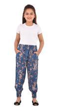 Nexgen Girls Girl Printed Harem Pants,Blue - KFGS201580P3