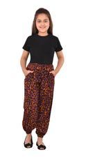 Nexgen Girls Girl Printed Harem Pants,Multi - KFGS201579P1
