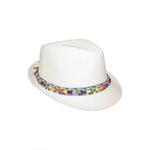 Le Crystal Girls Hat,Off White,FMGST6-OW