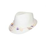 Le Crystal Girls Hat,White,FMGST5-W