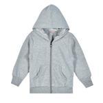 Zebra Crossing Girls Hooded Jacket,Grey-SSG17208COL3