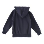 Zebra Crossing Boys Hooded Jacket,Navy -VCG042COL1