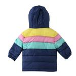Lily And Jack Baby Girl Panelled Jacket , Multi - JCGS19652
