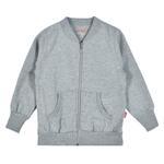Zebra Crossing Girls Jacket,Grey-SSG17209COL3