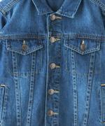 Nexgen Juniors Boys Denim Jacket , Denim Blue - MCGAW209402