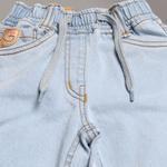 Little Kangaroos Girls Slimfit Denim Pants,Ice Blue-ROGSS21PL2180E