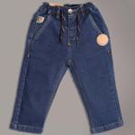 Little Kangaroos Baby Boys Denim Jeans,Dark Blue-ROGSS2121493A