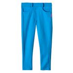 Le Crystal Girls Jegging , Turquoise-SSG17212COL2