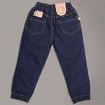 Little Kangaroos Boys Denim Jogger Pants,Dark Blue-ROGSS21PL2134E
