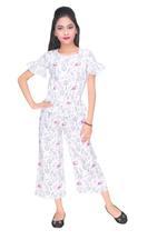 Disney Frozen Girls Jumpsuit,White-HWGLF61