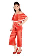 Nexgen Girls Girl Jumpsuit,Red-MCG703E
