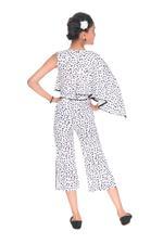 Nexgen Girls Girls Stylish Jumpsuit,White-MCG704B