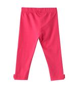 Chiquitos Baby Girls Legging , Dark Pink - BAGCGAW20L05