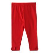 Chiquitos Baby Girls Legging , Red - BAGCGAW20L03