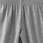 Zebra Crossing Girls Capri Legging,Grey Melange,VCG047COL3