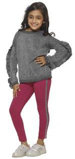 Nexgen Girls Girls Fashion Leggings , Violet - VCGSS21103