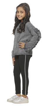 Nexgen Girls Girls Fashion Leggings , Black - VCGSS21104