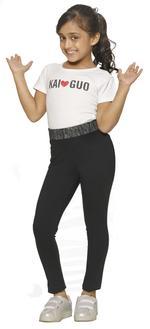 Nexgen Girls Girls Fashion Leggings , Black - VCGSS21107