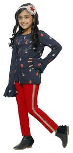Nexgen Girls Girls Fashion Leggings , Red - VCGSS21110