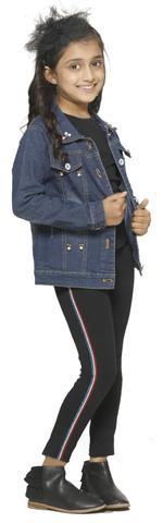 Nexgen Girls Girls Fashion Leggings , Black - VCGSS21117
