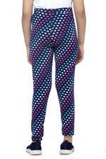Nexgen Girls Girls Printed Leggings , Blue - VCGSS21176