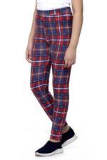 Nexgen Girls Girls Printed Leggings , Navy/Red - VCGSS21172