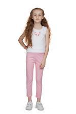 Little Kangaroos Girls Leggings,Pink-ROGS2019626A