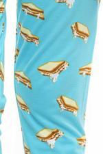 Nexgen Girls Girls Printed Leggings , Sky Blue - VCGSS21171