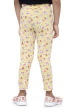 Nexgen Girls Girls Printed Leggings , Dark Yellow - VCGSS21156