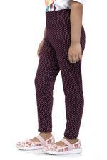 Nexgen Girls Girls Leggings , Maroon - VCGSS21164