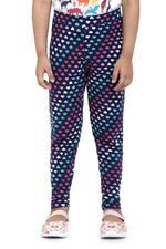 Nexgen Girls Girls Printed Leggings , Blue - VCGSS21161