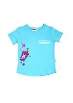 Poopsie Girls T-Shirt With Legging Set,Sky Blue/Pink-HWGLS21PPS36