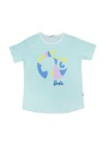 Barbie Girls T-Shirt With Legging Set ,Sea Green-HWGLS21BBS08A