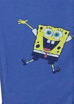 SpongeBob Girls T-Shirt With Legging Set,Coral/Cornflower Blue-HWGLS21SBS40A
