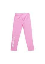 Smiley Girls T-Shirt With Legging Set ,Lomen Yellow/Pink - HWGLS21SMS68A
