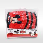 Mickey Mouse Boys 3pc Washable Face Covering , Red - TCGLTRHA8845