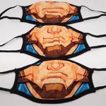 Marvel Boys 3pc Washable Face Covering , Multi - TCGLTRHA8428