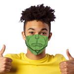 Marvel Boys 3pc Washable Face Covering , Green/Black - TCGLTRHA8429