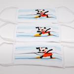 Mickey Mouse Boys 3pc Washable Face Covering , White - TCGLTRHA8622