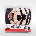 Mickey Mouse Boys 3pc Washable Face Covering , Black/Peach - TCGLTRHA8560