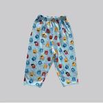 Smart Baby Baby Boys 2 Piece Pack Pajama , light Gray/Sky Blue - NCGSS21SBPB7D