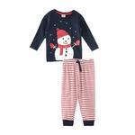 Genius Boys T-shirt With Pajama Set , Navy/Red - HDGLW20B2065