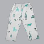 Disney Baby Boys T-shirt With Pajama Set , Sea Green/Grey Melange - SIMGS20LIB013