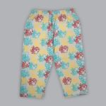 Disney Baby Boys T-shirt With Pajama Set , Sea Green/Multi - SIMGS20LIB009