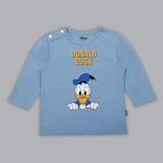 Disney Baby Boys T-shirt With Pajama Set , Blue/White - SIMGS20LIB003