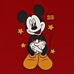 Disney Baby Boys T-shirt With Pajama Set , Red/White - SIMGS20LIB006